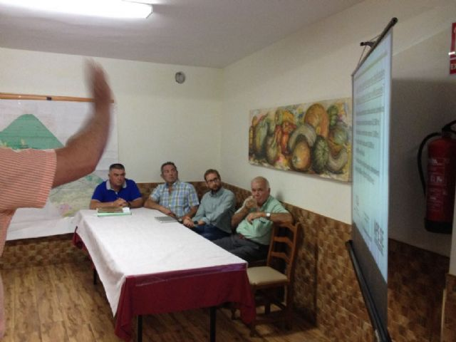 Information Assembly on PGMO neighbors and owners of the Sierra with Councilman Carlos Ballester