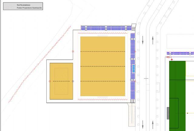 Nuevo paso administrativo para la construcción de los campos de fútbol y voley playa en el Complejo Deportivo, Foto 1
