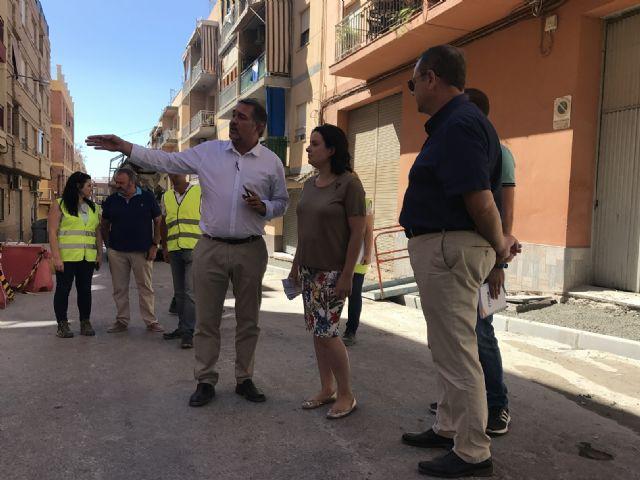 Las obras de renovación urbana de barrio de Los Ángeles  Apolonia avanzan a buen ritmo, habiéndose ejecutado ya el 65% de los trabajos - 1, Foto 1