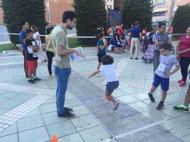 Ruta Senderista al Cejo, Jugando al Atletismo en la Calle y Aquaeróbic, citas populares de la segunda semana de Juegos del Guadalentín - 2, Foto 2