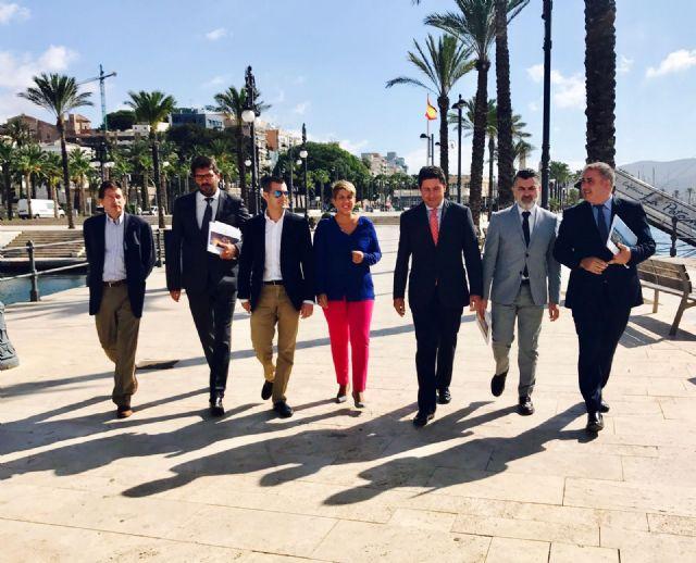 La Comunidad impulsará el Puerto de Cartagena para dinamizar el turismo, la cultura y el sector empresarial de la Región - 1, Foto 1