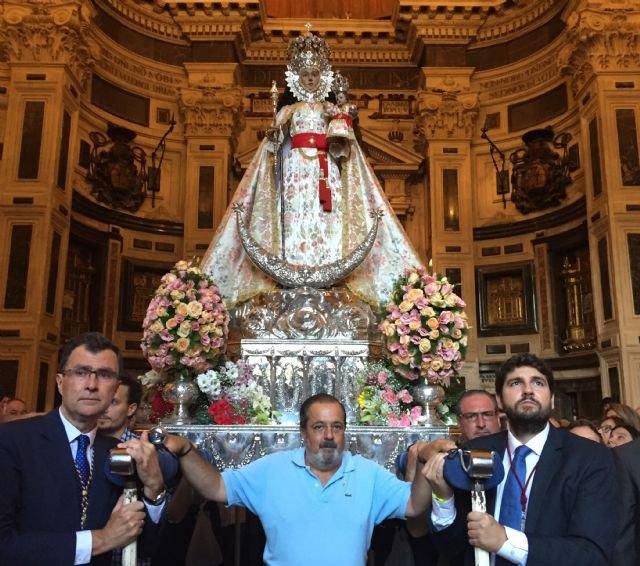 Más de 800.000 personas acompañan a la Virgen de la Fuensanta en su Romería hacia el Santuario - 2, Foto 2