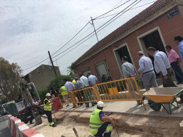Cambiemos Murcia recuerda a Ballesta que las obras de la red de saneamiento en San Ginés aún no han finalizado - 1, Foto 1