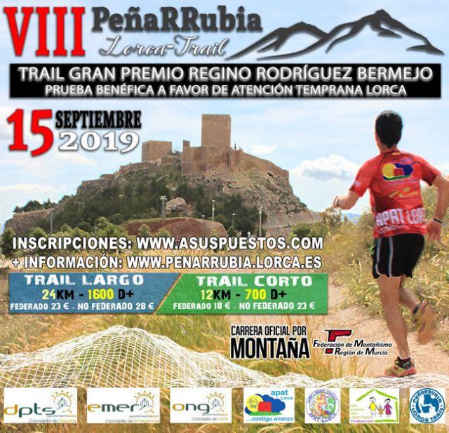 La Peñarrubia Lorca Trail, una de las pruebas deportivas más solidarias, vuelve en su octava edición el próximo 15 de septiembre - 1, Foto 1