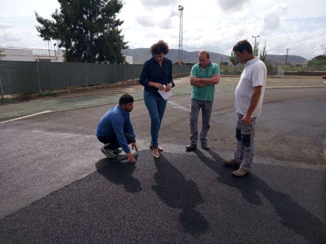 Se inicia la fase final de las obras de la pista de atletismo de Puerto Lumbreras - 1, Foto 1