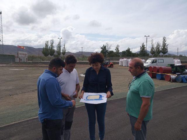 Se inicia la fase final de las obras de la pista de atletismo de Puerto Lumbreras - 3, Foto 3