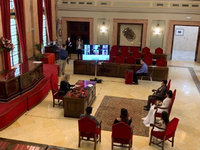El Ayuntamiento reanuda las bodas civiles el próximo fin de semana tras el verano con límite de aforo a treinta personas - 1, Foto 1