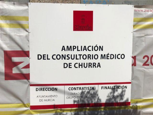 Arrancan las obras de ampliación del consultorio de Churra para reforzar  la asistencia sanitaria de miles de vecinos - 1, Foto 1