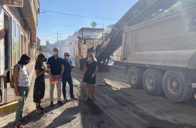 La renovación del firme de la calle Mula, incluida en el POS, ya está en marcha - 2, Foto 2