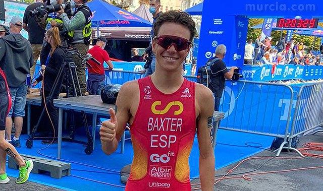 [Cuarta posición para el totanero Sergio Baxter en la Copa del Mundo de Triatlón celebrada en Karlovy Vary