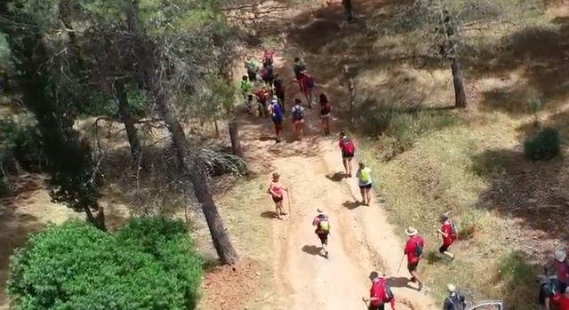 Camino Eulaliense - Chronicle section Don Domingo - Pontones - Hornos de Segura (July 11 and 12, 2020)