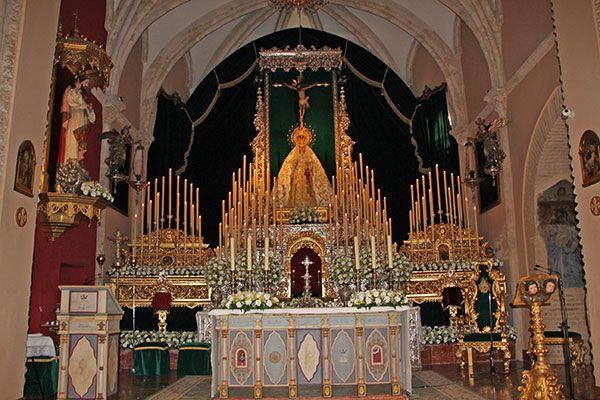 Convocatoria de los cultos extraordinarios del 50 aniversario de la Coronación Canónica de la Virgen de las Angustias de Alcalá del Río - 1, Foto 1