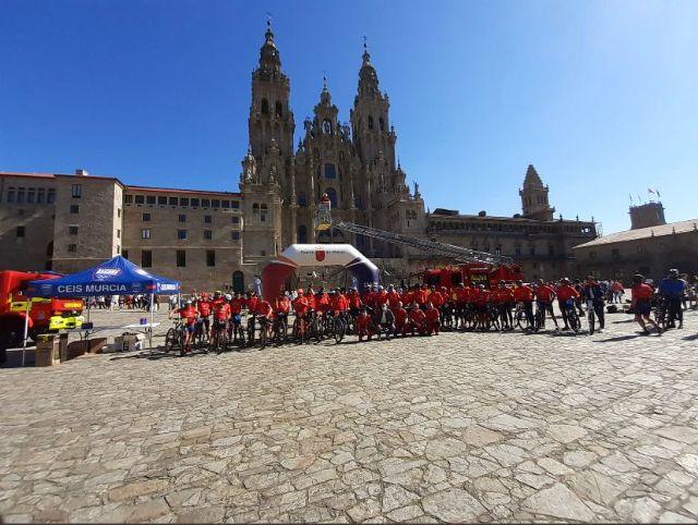 Los bomberos de Mi Camino Solidario Non Stop llegan a Santiago de Compostela - 3, Foto 3