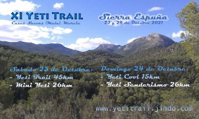 Yeti Trail, de nuevo testigo del Campeonato de la Región de Murcia Open de Trail Running por Equipos - 1, Foto 1