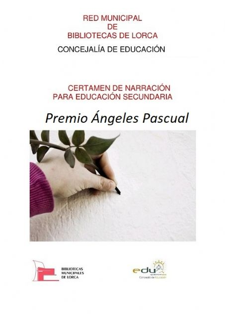 Abierto el plazo para participar en el 14ª Certamen de Narración Premio Ángeles Pascual organizado por la Red Municipal de Bibliotecas de Lorca - 1, Foto 1