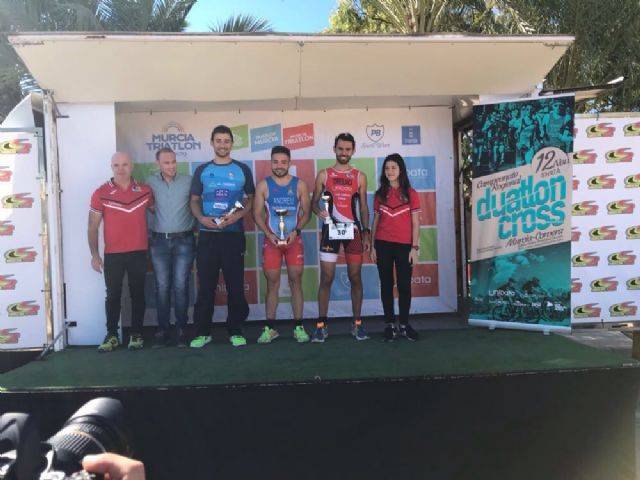 The Totana Triathlon Club participated in the duathlon Cross Ciudad de Murcia - Regional Championship - 1