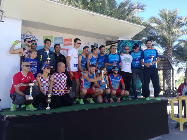 The Totana Triathlon Club participated in the duathlon Cross Ciudad de Murcia - Regional Championship - 3