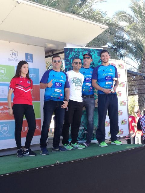 The Totana Triathlon Club participated in the duathlon Cross Ciudad de Murcia - Regional Championship - 7