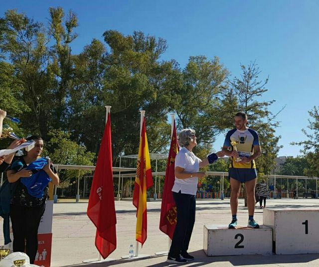 Michi, del Club Atletismo Totana, subcampeón en la carrera popular Manos Unidas de Murcia