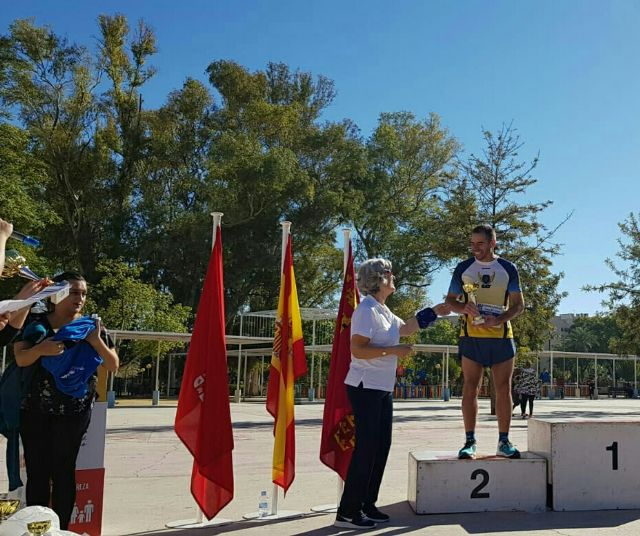 Michi, Club Athletics Totana, runner-up in the popular race Manos Unidas de Murcia
