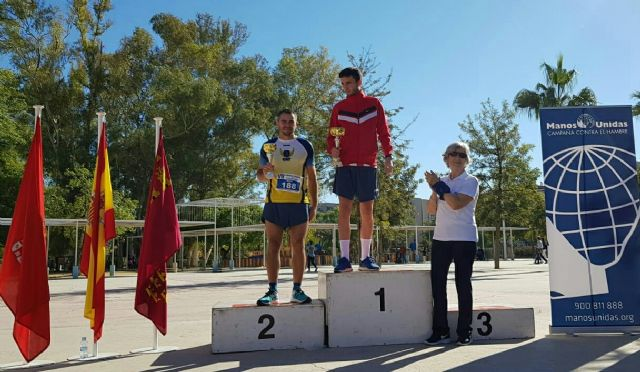 Michi, Club Athletics Totana, runner-up in the popular race Manos Unidas de Murcia, Foto 4