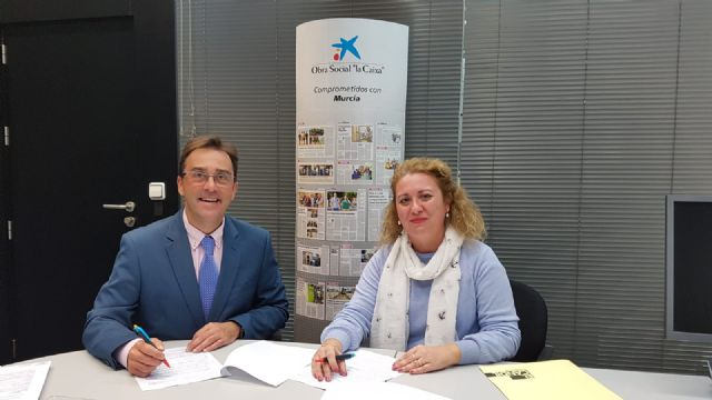 """El Candil"" signs a collaboration agreement with the Banking Foundation ""La Caixa"", Foto 3"