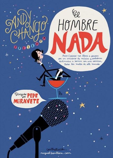 Andy Chango lleva su nuevo espectáculo El hombre nada a Yecla el sábado 24 de noviembre - 1, Foto 1