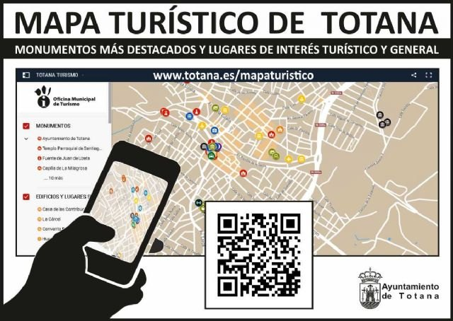 The Department of New Technologies designs a tourist application on services, places of interest and general information, among others, of Totana, Foto 1