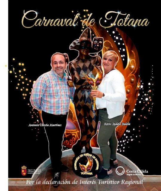 Rocio Tudela is the new President of the Peñas Federation of the Carnival of Totana, Foto 1