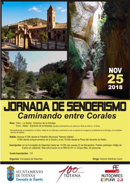 Organizan una Ruta de Senderismo al Estrecho de la Arboleja, el pr�ximo 25 de noviembre, Foto 1