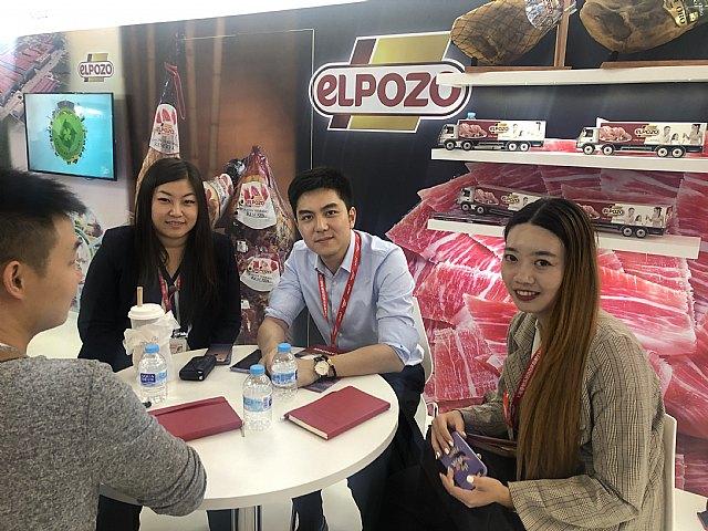 eLPOZO ALIMENTACIÓN fortalece su presencia comercial en Asia., Foto 1