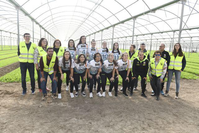 Los agricultores de Florette Murcia reciben la visita de STV Roldán FSF - 2, Foto 2