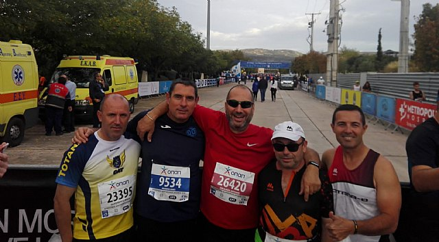 The CAT has been present this weekend in the Marathon of Greece, Half Marathon of Mojácar and Ascent to the Castle of Lorca