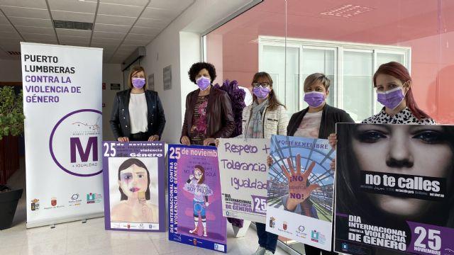 Puerto Lumbreras presenta un programa de actividades online para conmemorar el Día Internacional contra la Violencia de Género - 2, Foto 2
