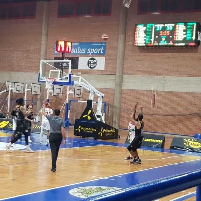 El pabellón deportivo Fausto Vicent de Alcantarilla estrena videomarcador digital para los partidos de baloncesto - 1, Foto 1