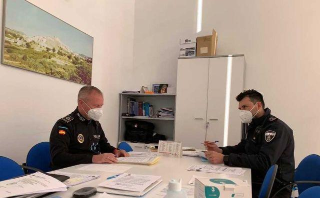 Los ayuntamientos de Caravaca y Cehegín acuerdan que las policías de ambos municipios colaboren en controles en puntos limítrofes para garantizar las medidas del estado de alarma - 2, Foto 2