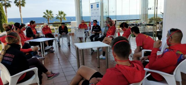 La selección española de paratriatlón se concentra en Mar de Pulpí con la vista centrada en los Juegos - 1, Foto 1