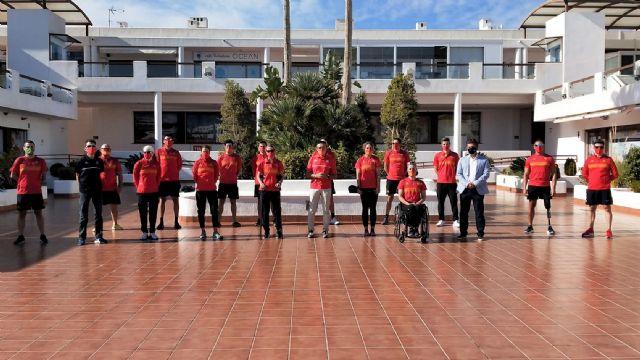 La selección española de paratriatlón se concentra en Mar de Pulpí con la vista centrada en los Juegos - 2, Foto 2