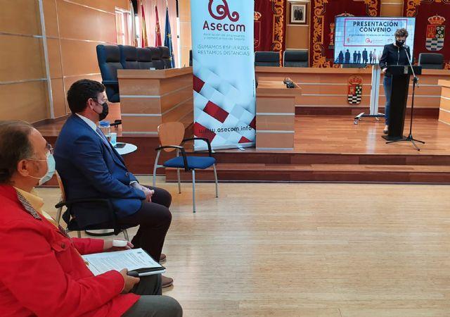 ASECOM y el Ayuntamiento de Molina de Segura renuevan su convenio de colaboración - 1, Foto 1