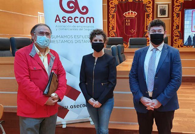 ASECOM y el Ayuntamiento de Molina de Segura renuevan su convenio de colaboración - 3, Foto 3