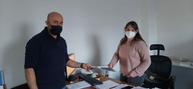 The Platform in Defense of the Bastida Project - UAB meets with the councilor for Archaeological Sites