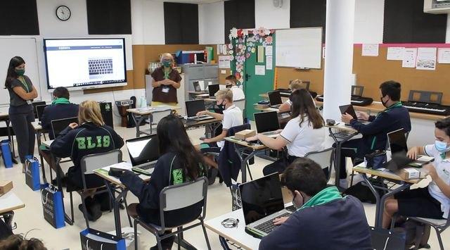 Colegios de Murcia promueven la transformación digital en el aprendizaje a la vez que se adelantan a posibles confinamientos - 1, Foto 1