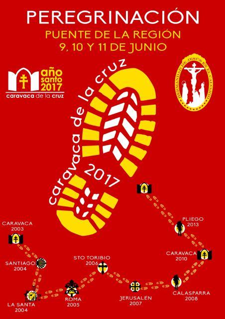La Hermandad de Jesús en el Calvario y Santa Cena peregrinará a Caravaca de la Cruz con motivo del Año Santo 2017, Foto 1