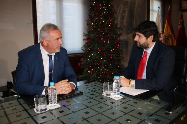 Fernando López Miras se reúne con el alcalde de Moratalla - 2, Foto 2