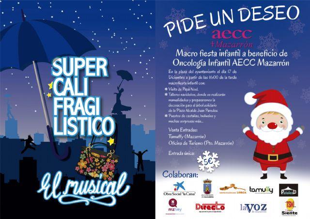 La AECC celebra la llegada de la Navidad con una fiesta a beneficio de oncología infantil, Foto 1
