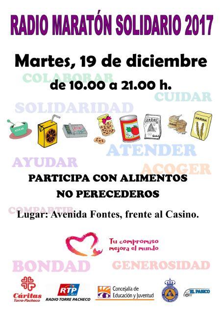 Radio Maratón Solidario a beneficio de Cáritas Torre-Pacheco - 1, Foto 1