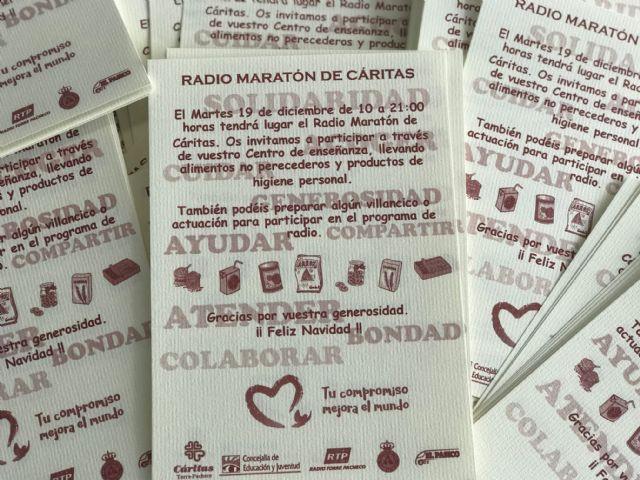 Radio Maratón Solidario a beneficio de Cáritas Torre-Pacheco - 2, Foto 2