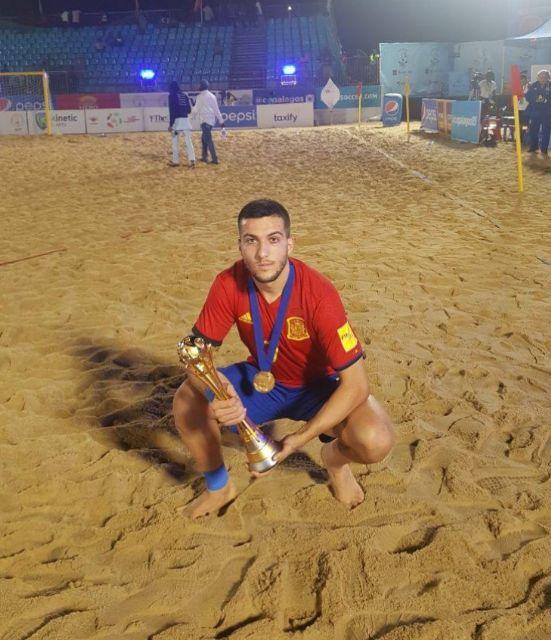 Bernal López campeón internacional con la Selección Española, Foto 1