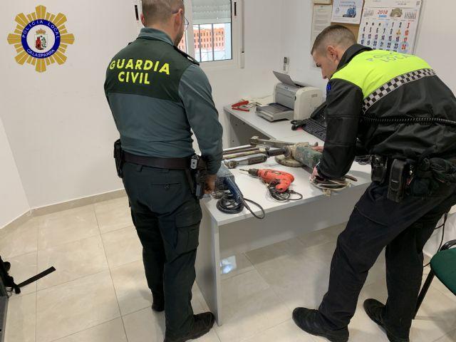 Detenido un vecino como presunto autor de robos en viviendas situadas en la zona rural de Calasparra - 1, Foto 1