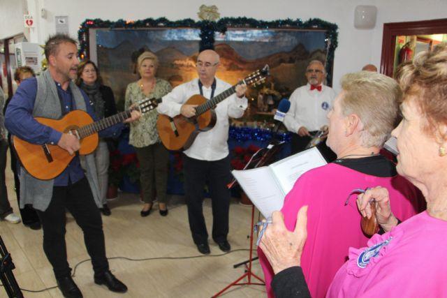 Los mayores pinatarenses celebran la llegada de la Navidad con los belenes en los hogares del pensionista - 2, Foto 2